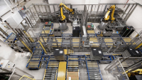 Bearing solutions and dynamic motion systems for robot-based automation